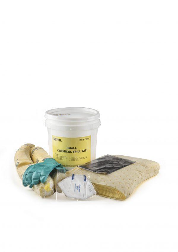 Kompilasi bahan penyerap, pembersih, dan penetral kimia - digunakan untuk menahan tumpahan tak disengaja dalam lingkungan industri.
