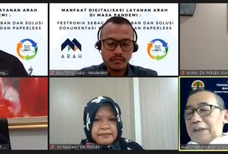 Webinar Sosialisasi Festronik oleh PT. Arah Environmental Indonesia